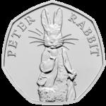 Peter Rabbit 50p 2019