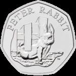 Peter Rabbit 50p 2020