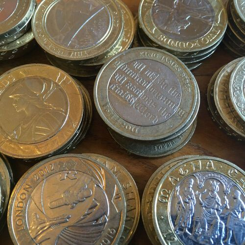 Rare Two Pound Coins