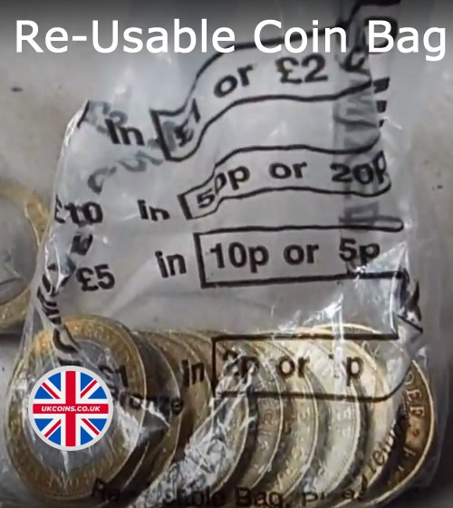 Re-Usable Coin Bag