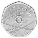 Sir Isaac Newton 50p