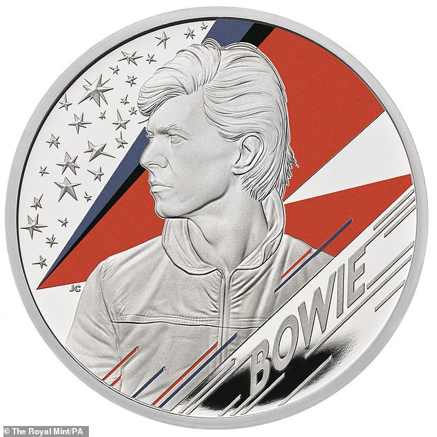 David Bowie Silver Proof Coins