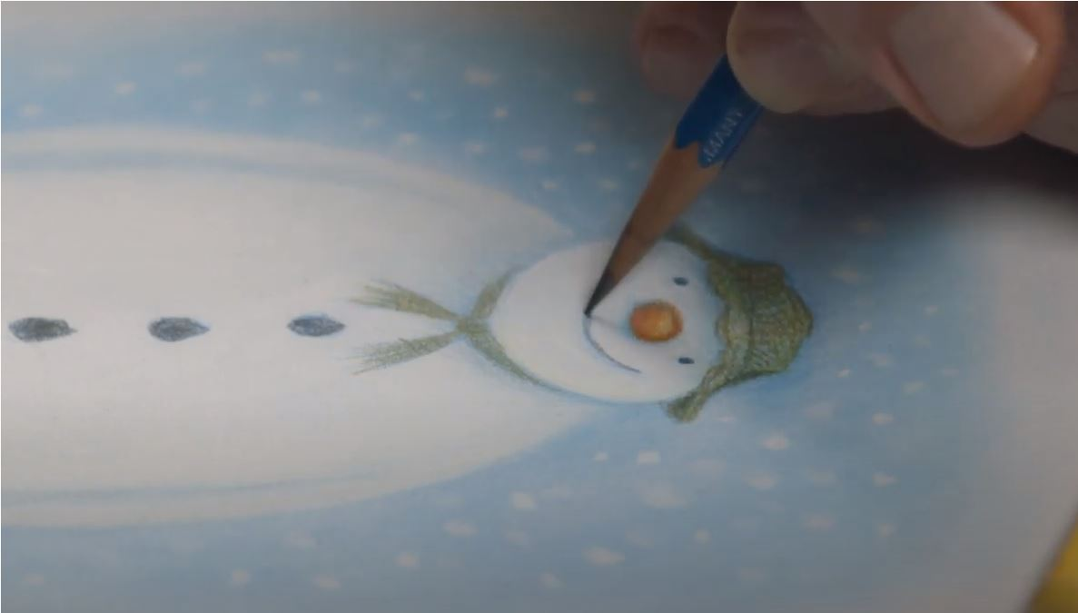 The Snowman Drawings