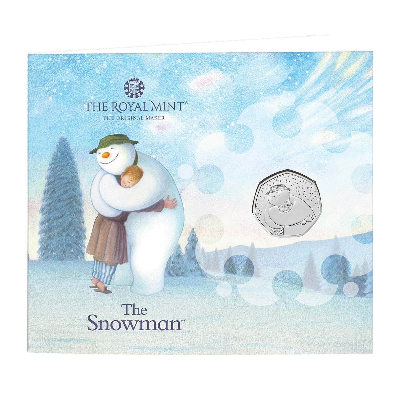 The Snowman 50p Greetings Card