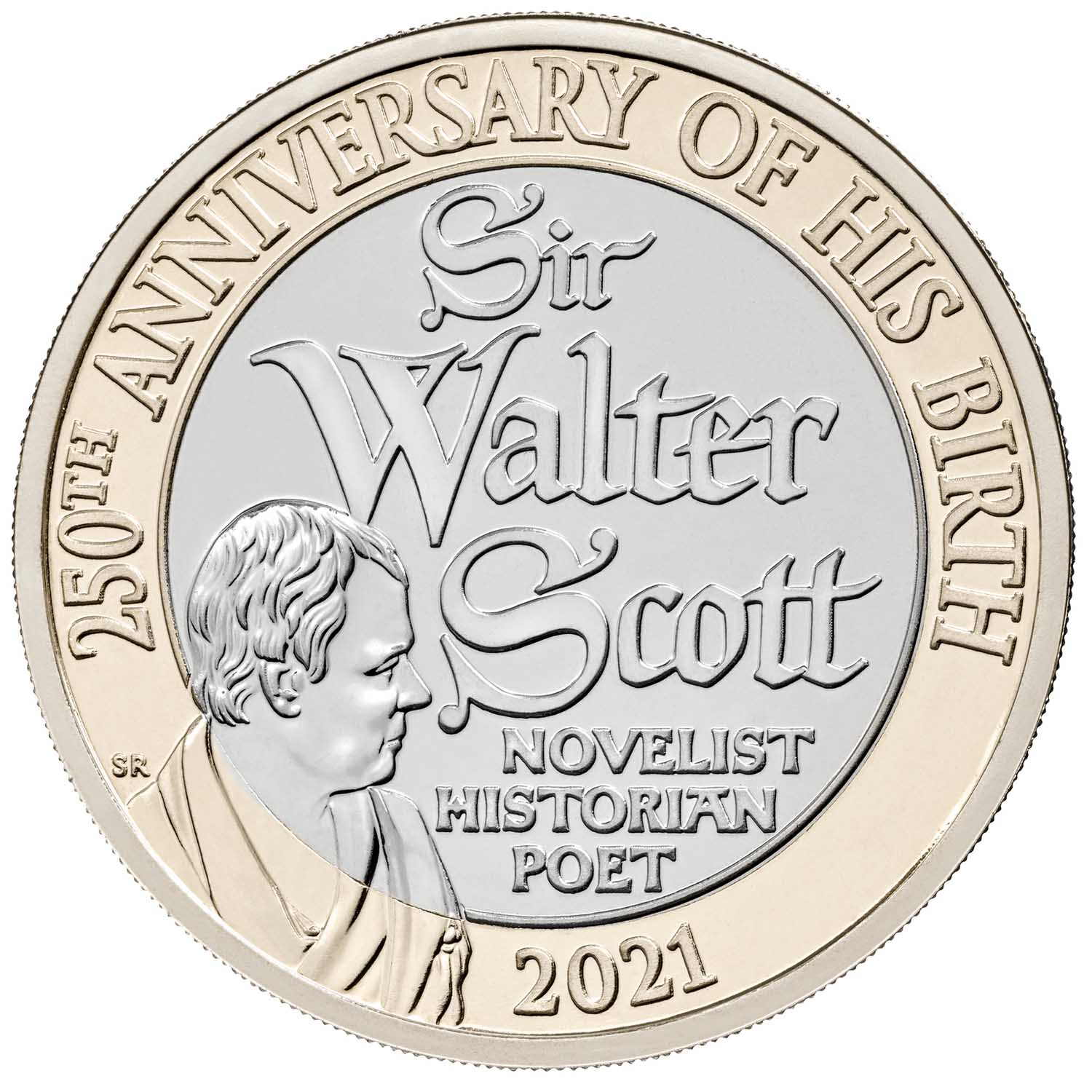 Sir Walter Scott coin
