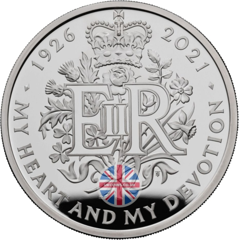 Queen 95th Birthday Coin