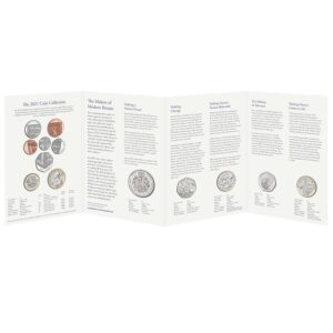 2021 United Kingdom Brilliant Uncirculated Annual Coin Set