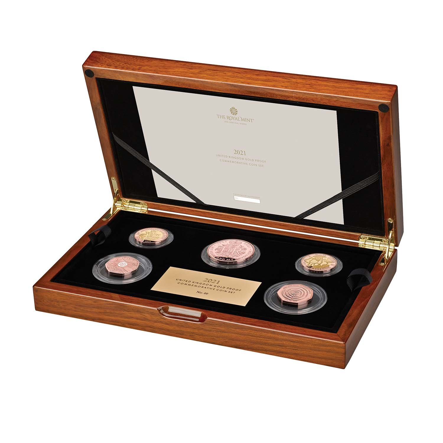 2021 United Kingdom Gold Proof Commemorative Coin Set