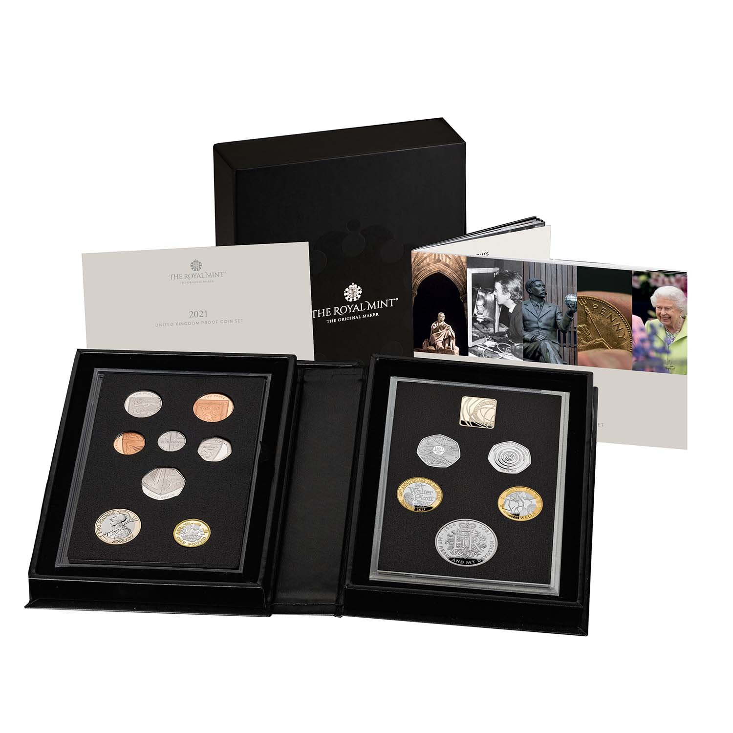 2021 United Kingdom Proof Coin Set